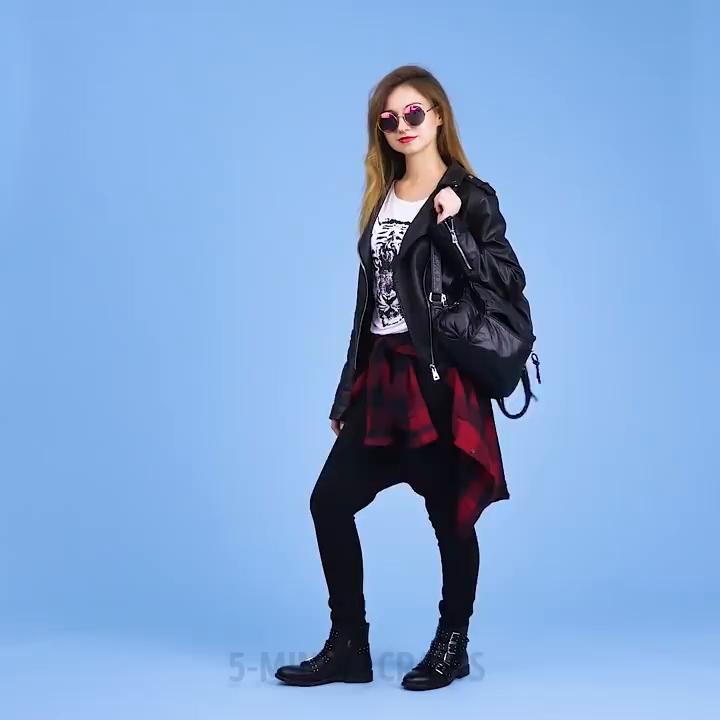 ترفند های جالب دخترانه-ترفند دخترانه برای لباس-195