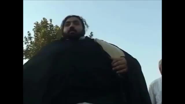 مرد غول پیکر پاکستانی با 450 کیلوگرم وزن