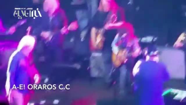 مرگ خواننده در حین اجرای کنسرت روی سن