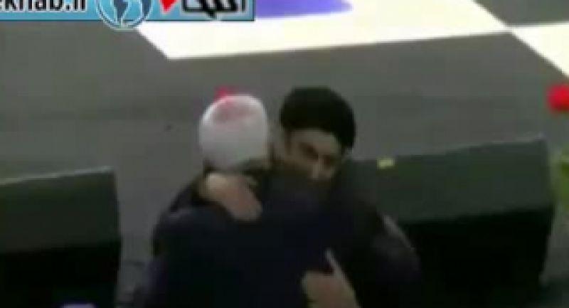 واکنش بادیگارد ظریف به محسن تنابنده!