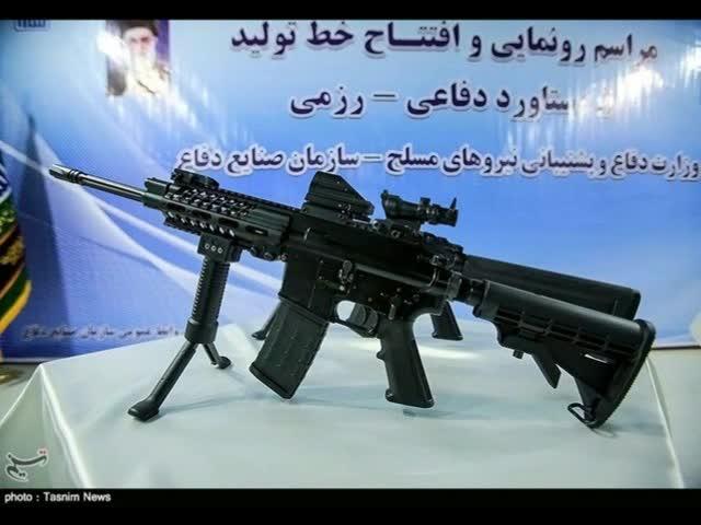 وله ای کوتاه از مدرن ترین اسلحه ی خودکار جهان به نام مصاف
