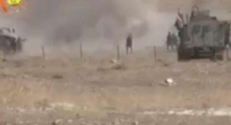 خودکشی داعشی ها در میان پیشمرگه ها موصل_سوریه