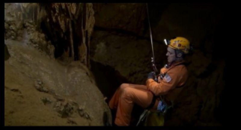 تمرین فضانوردی در دل غارهای سرد و تاریک