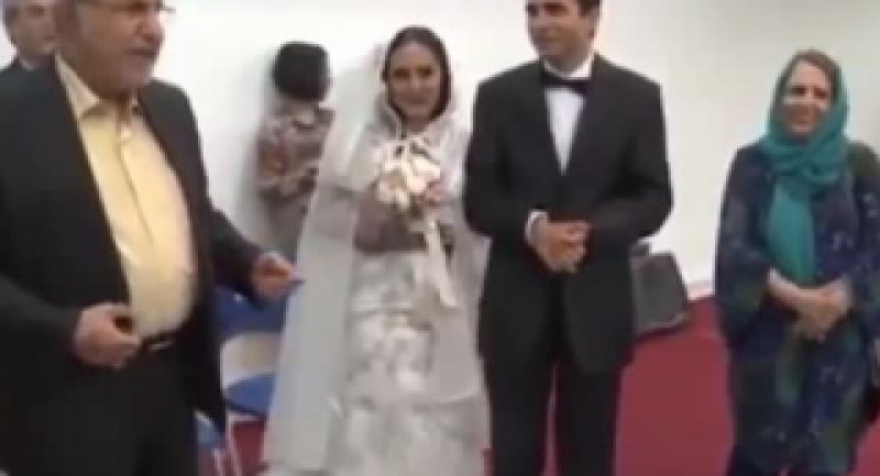 زیباترین  و قشنگترین عروسی که در ایران برپا شده