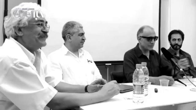 صحبتهای عباس کیارستمی درباره هنرهای تجسمی و کار با مرتضی ممیز