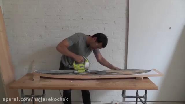 نجاری - آموزش ساخت صندلی راحتی