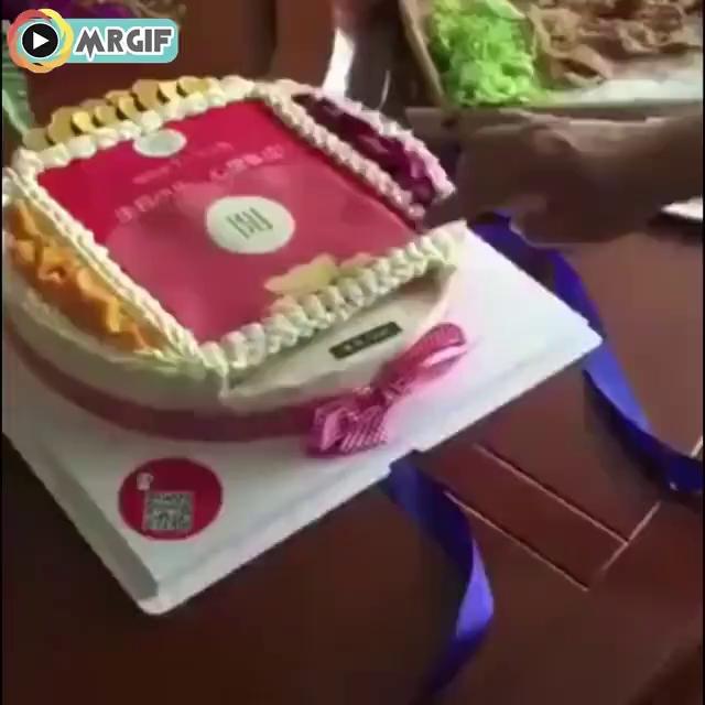 کیک تولد فقط این!