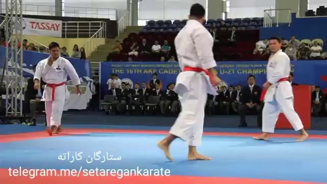 زیبایی کاراته در اجرای بونکای کاتا