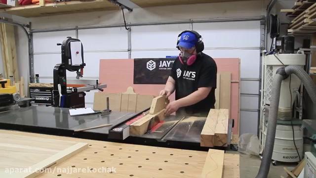 نجاری - آموزش ساخت میز ناهار خوری