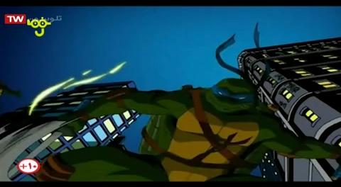 """کارتون لاک پشت های نینجا - دوبله به فارسی - فصل 4 (2006) - قسمت """" بدن دیوانه"""""""