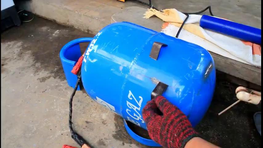 ابزار نجاری - ویدیو آموزش ساخت کمپرسور باد با موتور یخچال