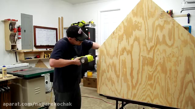 نجاری - ساخت خانه سگ