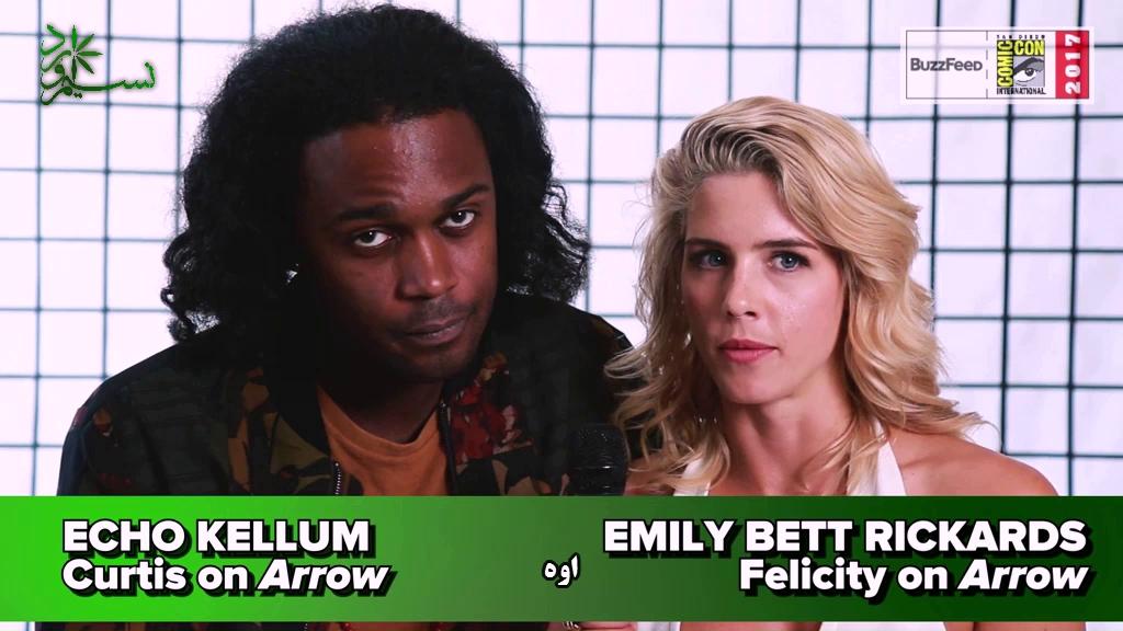 گفتگو های جالب ستاره های ابر قهرمان مجموعه های CW ( با ترجمه اختصاصی )