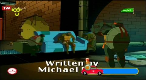 """کارتون لاکپشت های نینجا - دوبله به فارسی - فصل 4 (2006) - قسمت """" محکمه نینجا """""""