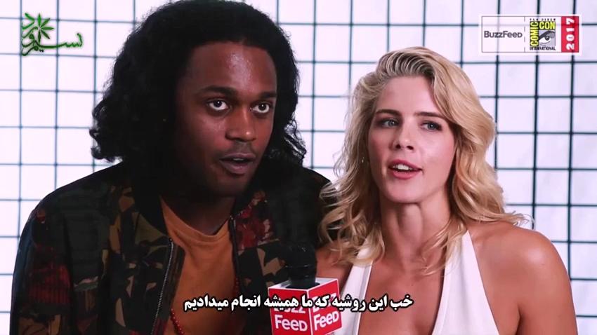 گفتگو های جالب ستاره های ابر قهرمان مجموعه های CW ( با ترجمه اختصاصی )   حجم کم