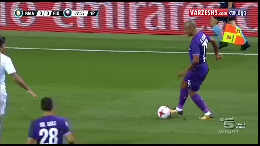 خلاصه بازی ریال مادرید 2-1 فیورنتینا در جام سانتیاگو برنابیو
