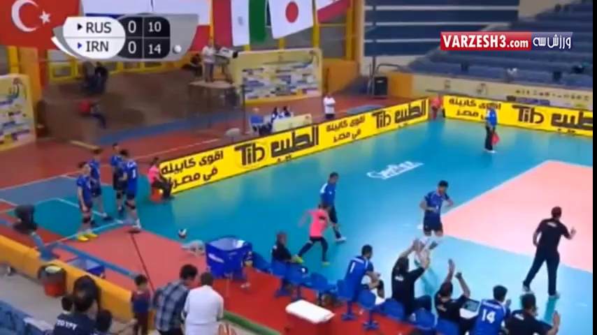 خلاصه والیبال فوق العاده ایران 4-3 روسیه