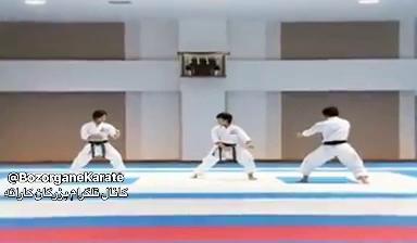 ویدیویی بسیار زیبا از کاراته