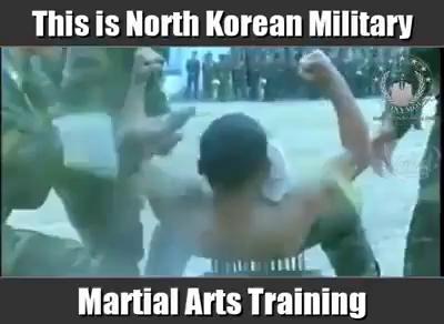 تمرینات رزمی ارتش کرده شمالی