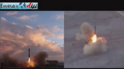 فیلم/ تست موشک «خرمشهر» با برد دو هزار کیلومتر