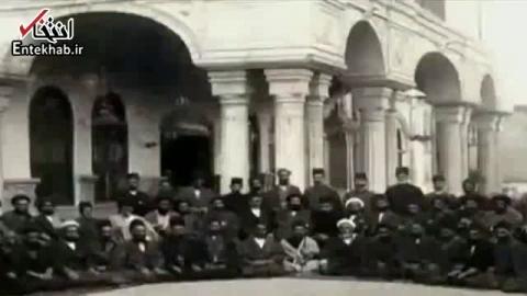 فیلم/ اولین صدای ضبط شده در تاریخ ایران؛ مظفرالدین شاه قاجار : من سايه خدا هستم