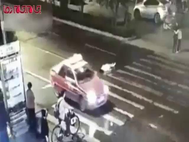 لحظات مرگ یک زن