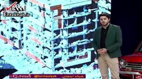 فیلم/ انتقاد علی ضیا از دولت احمدینژاد در تلویزیون