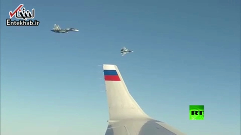 فیلم/ تصاویری از داخل هواپیمای اختصاصی پوتین