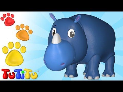 ویدیوهای آموزشی تو تی تو - اسباب بازی جانوران 53