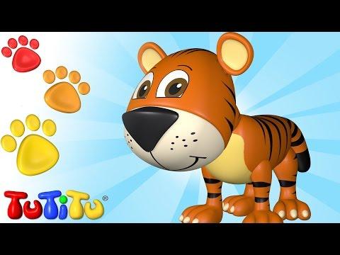 ویدیوهای آموزشی تو تی تو - اسباب بازی جانوران 66