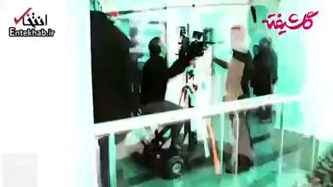 فیلم/ سیامک انصاری و شیلا خداداد در «گلشیفته»