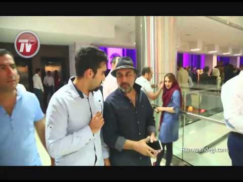 رضا عطاران در مهمانی خصوصی بهرام رادان