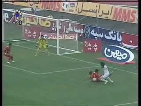 دانلود سوپر گل علی کریمی در آخرین بازی پرسپولیس...