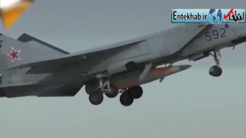 فیلم/ رونمایی پوتین از موشک جدید هایپرسونیک روسیه