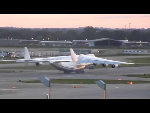 فیلم Antonov 225 Mriya Takeoff