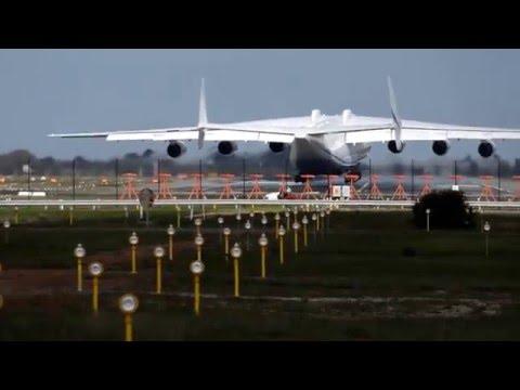 Antonov 225 Landing in Perth