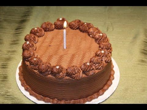 تزیین کیک شکلاتی با گاناش