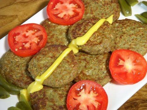 غذای رمضان-کتلت قارچ ویژه -افطار جدید