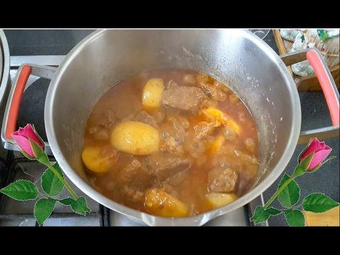 غذای رمضان-قورمه گوشت گاو ویا گوساله-غذای افطار