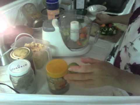 آشپزی آسان-روش تهیه جوانه نخود و هوموس خام گیاهی