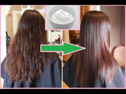 فواید ماست برای نرم بودن مو و مقابله  با شوره سر