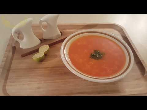 غذای رمضان-  طرز تهیه سوپ گندم-افطار خوشمزه