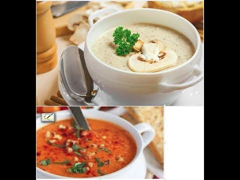 غذای رمضان- سوپ جو رستورانی مجلسی-افطار جدید و خوشمزه