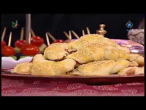 غذای رمضان-نان پنیر و جعفری-غذای افطار