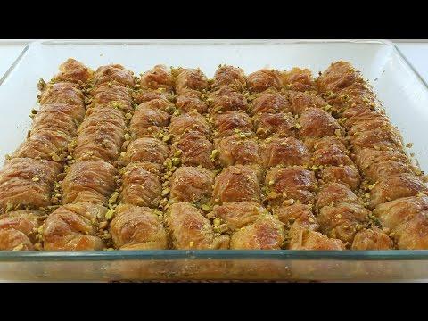 شیرینی پزی- طرز تهیه باقلوا ترکی-بسیار لذیذ