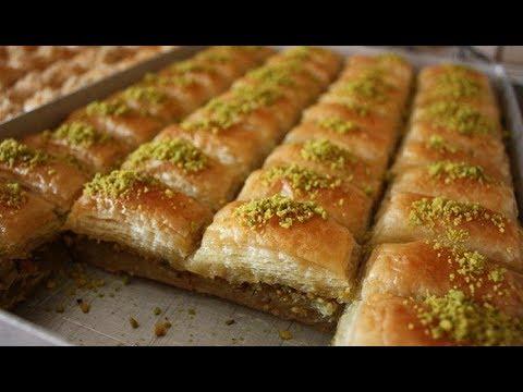 شیرینی پزی - آموزش درست کردن باقلوا استانبولی لذیذ