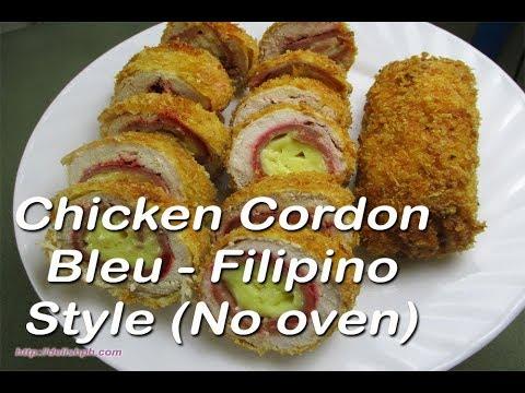آشپزی مدرن-تهیه کوردن بلو-پیش غذای لذیذ بدون نیاز به فر