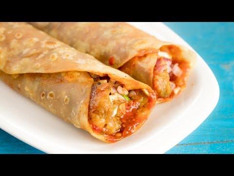 غذای رمضان-تهیه اسپرینگ رول هندی-پیش غذای لذیذ