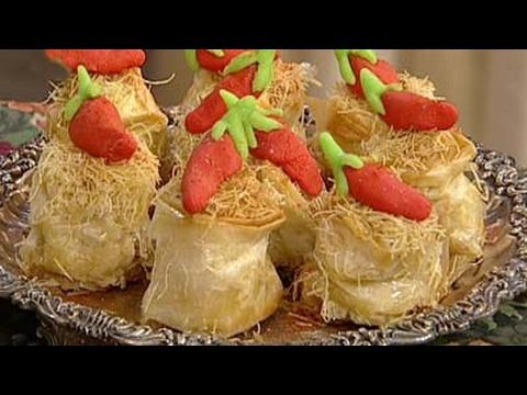 شیرینی پزی-تهیه باقلوای فلفلی