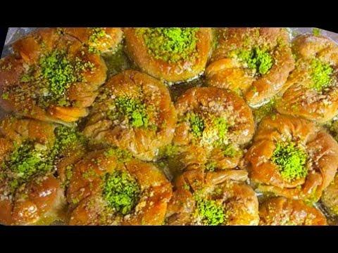 شیرینی پزی-باقلوای  خانگی خوشمزه و لذیذ